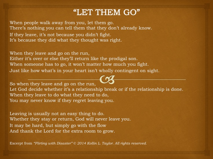 """Let Them Go"""