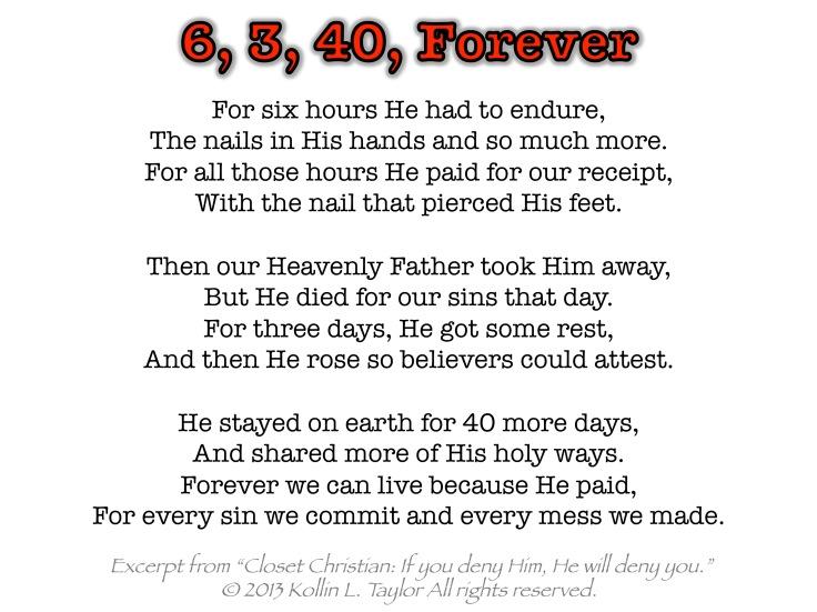 6, 3, 40, Forever