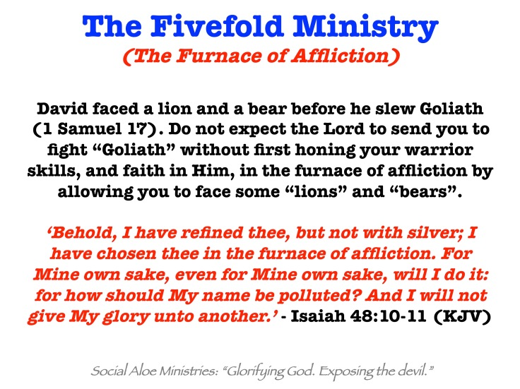 Fivefold Ministry (Furnace of Affliction)