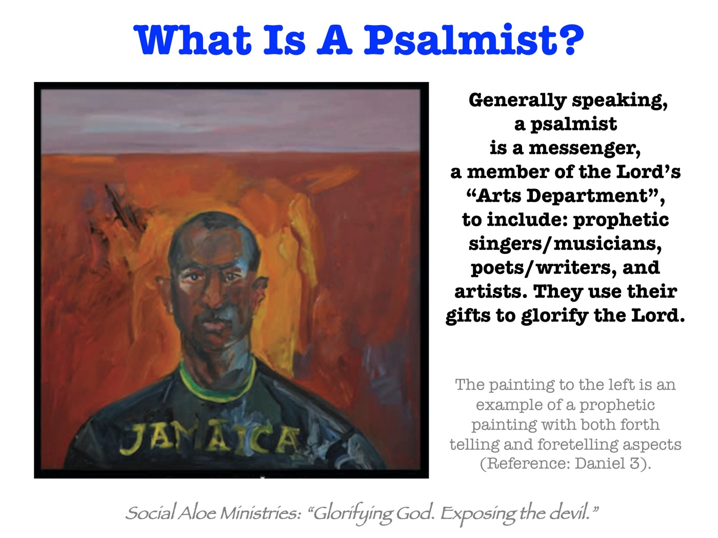 What Is A Psalmist? – Social Aloe Ministries