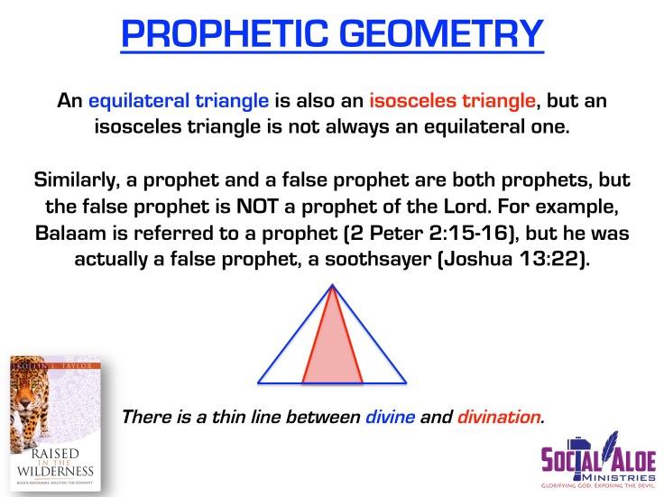 Prophetic Geometry