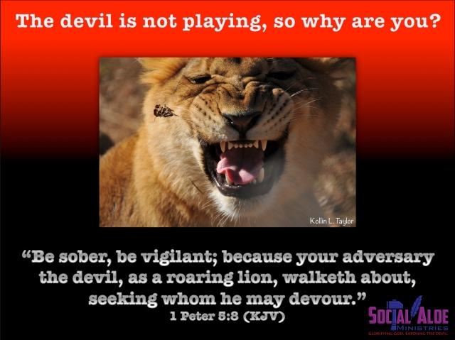 Roaring Lion (1 Peter 5-8)