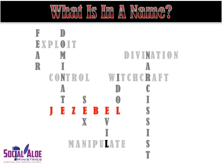 What's in a name - Jezebel